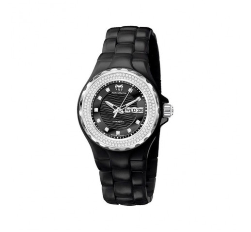 Technomarine Cruise Diamond Черная Керамика Бриллианты Женские - TM-111054