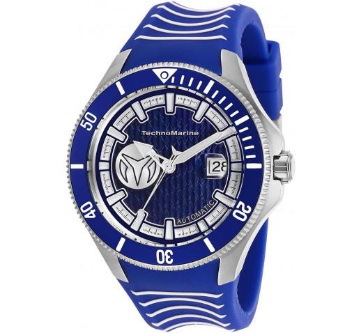 TechnoMarine Cruise Shark Механические Часы на Синем Ремешке - TM-118012