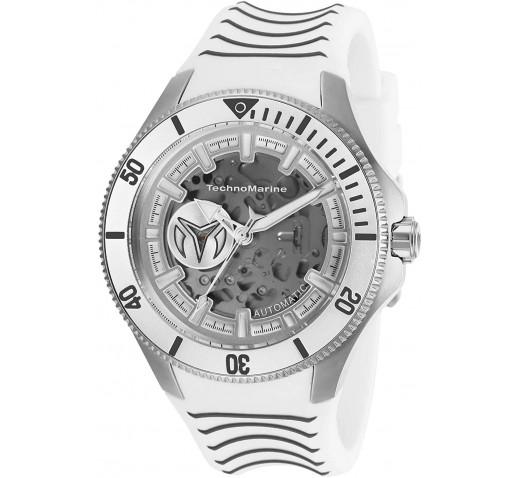 TechnoMarine Cruise Shark Полностью Белые Механические Часы - TM-118021
