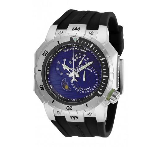 Technomarine Manta Diver Мужские Часы с Календарем 49мм - TM-218024