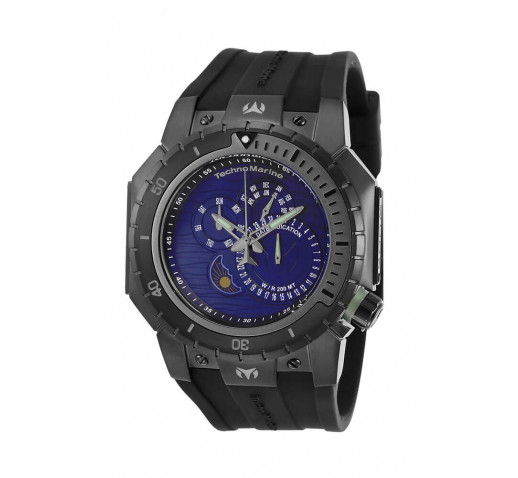 Technomarine Manta Diver Чёрный Корпус Мужские Часы 49мм - TM-218028