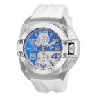 Technomarine Black Reef Белый Каучуковый Ремешок Часы с Хронографом - TM-518008