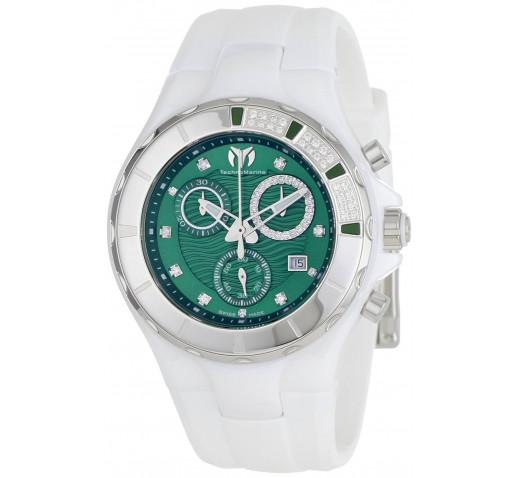 Technomarine Cruise Diamond Женские Часы с Бриллиантами Хронограф - TM-110076