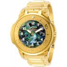 Invicta Transatlantic Полностью Золотые Часы с Двумя Циферблатами - 28579
