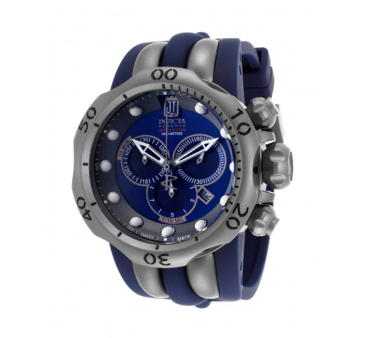 Invicta Reserve Venom Jason Taylor Swiss Made Большие Титановые Часы - 14415