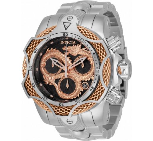 Invicta Venom Большие Часы с Драконом Цвета Розового Золота - 31511